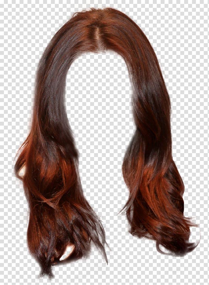 Long brown hair clipart clipart transparent stock Hairstyle Brown hair Wig Long hair, long hair transparent background ... clipart transparent stock