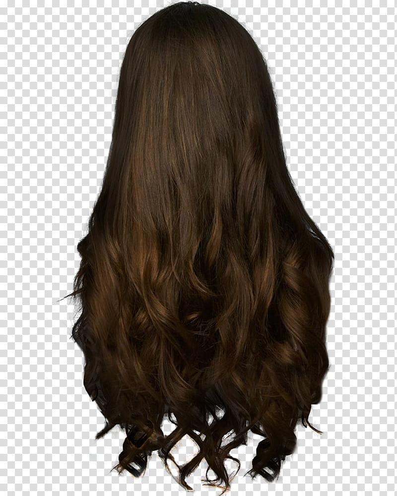 Long brown hair clipart png transparent download Hair , long brown hair transparent background PNG clipart | PNGGuru png transparent download