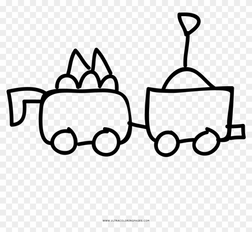 Long conectors toys clipart black and white banner royalty free library Toy Train Coloring Page - Line Art, HD Png Download - 1000x1000 ... banner royalty free library