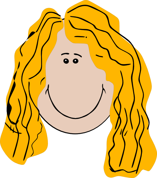 Long hair clipart graphic free download Long Hair Clipart Girl Hi - Clipart1001 - Free Cliparts graphic free download