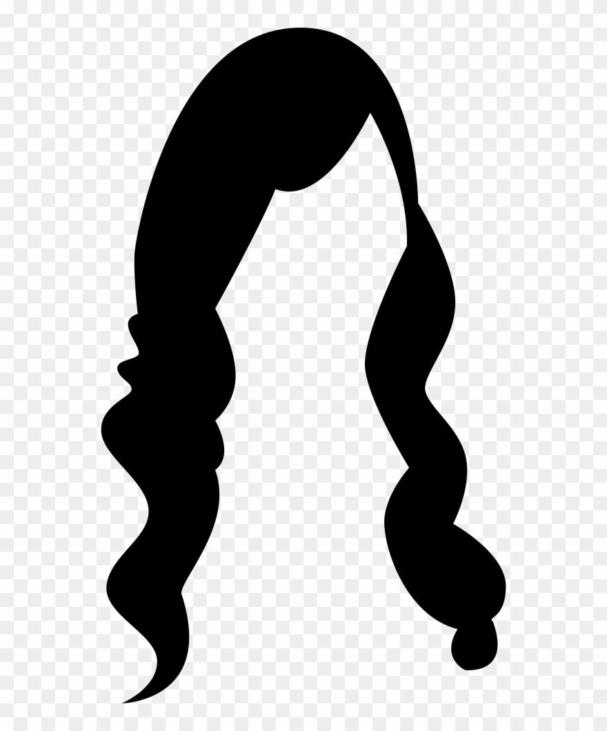 Long hair clipart svg freeuse stock Female Long Hair Comments Clipart (#2797564) - PinClipart svg freeuse stock