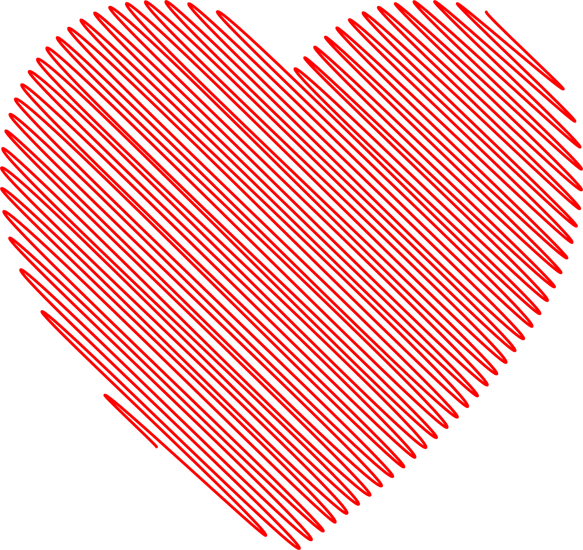 Long heart clipart image freeuse stock Clipart - Scribble Heart image freeuse stock