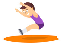 Library of long jump graphic library png files ▻▻▻ Clipart Art 2019