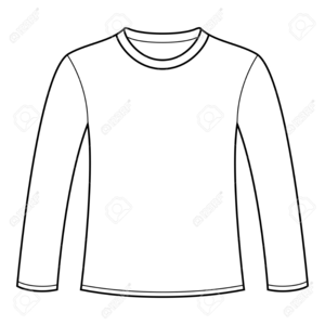 Long t shirt clipart clipart transparent Long Sleeve T Shirt Clipart | Free Images at Clker.com - vector clip ... clipart transparent