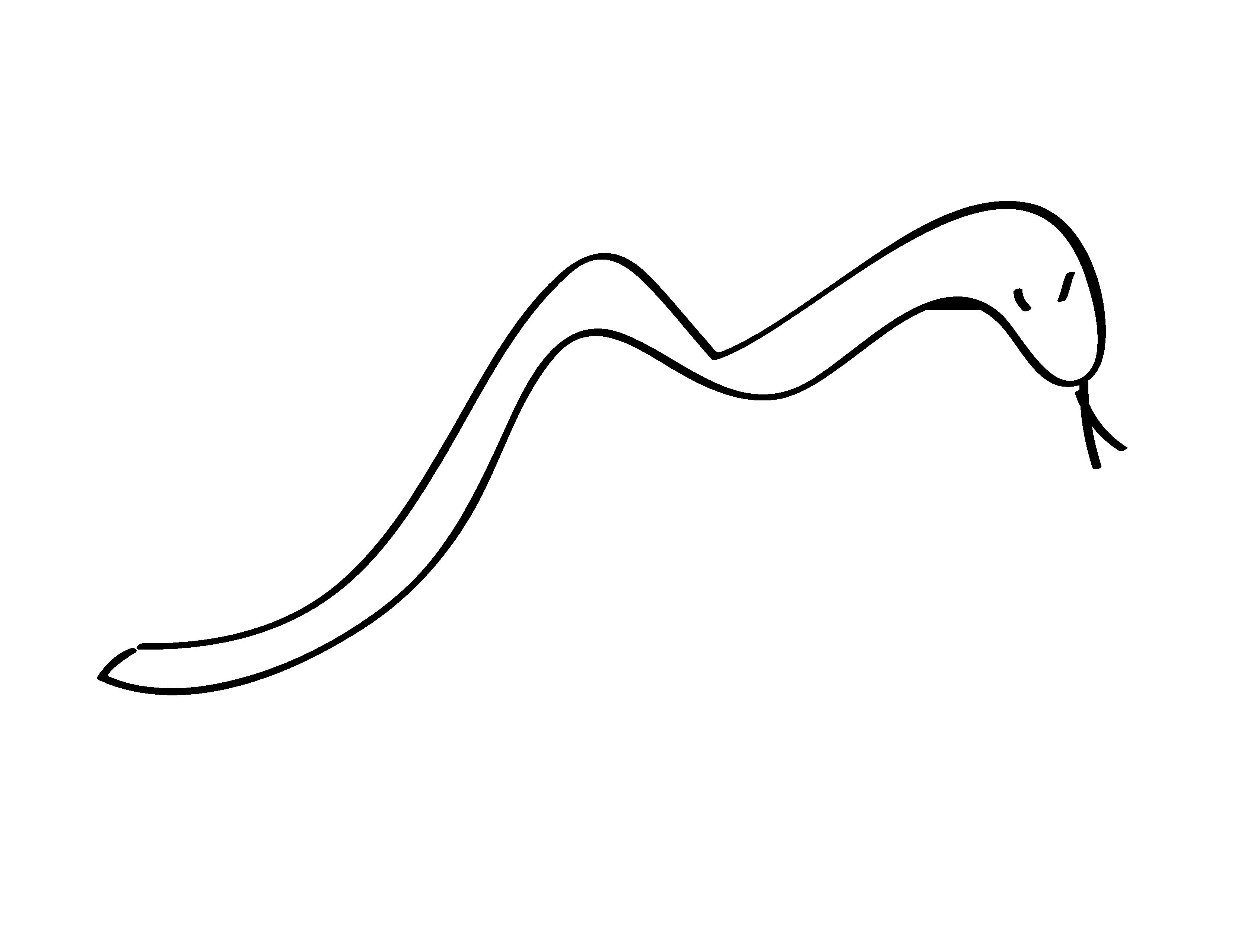 Long snake and short snake clipart black and white clip art transparent library Snake black and white snake clipart black and white line art ... clip art transparent library