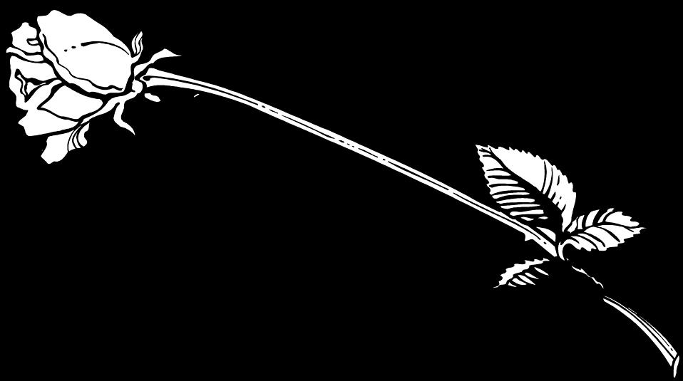 Long stem flower clipart jpg freeuse library Rose | Free Stock Photo | Illustration of a long stem rose | # 9766 jpg freeuse library
