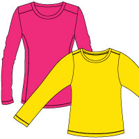 Long t shirt clipart clip transparent stock Free Longsleeve Shirt Cliparts, Download Free Clip Art, Free Clip ... clip transparent stock