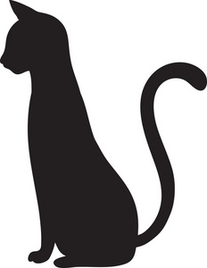 Long tail dog clipart free svg royalty free download cat silhouette clip art | sitting cat silhouette black | Cool ... svg royalty free download