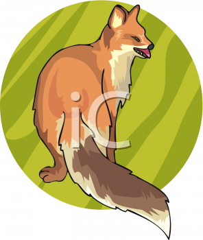 Long tail dog clipart free banner download Animal Clip Art Picture of a Red Fox with a Long Tail ... banner download