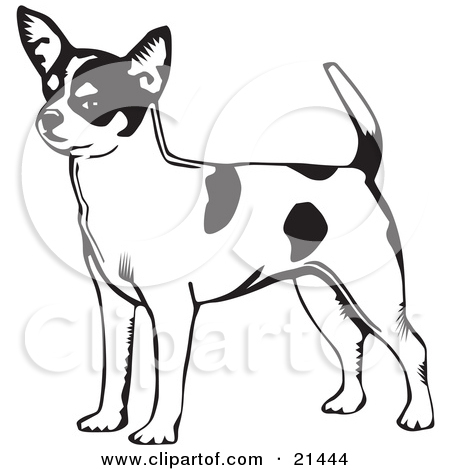 Long tail dog clipart free clipart black and white library Short tail dog clipart free - ClipartFest clipart black and white library