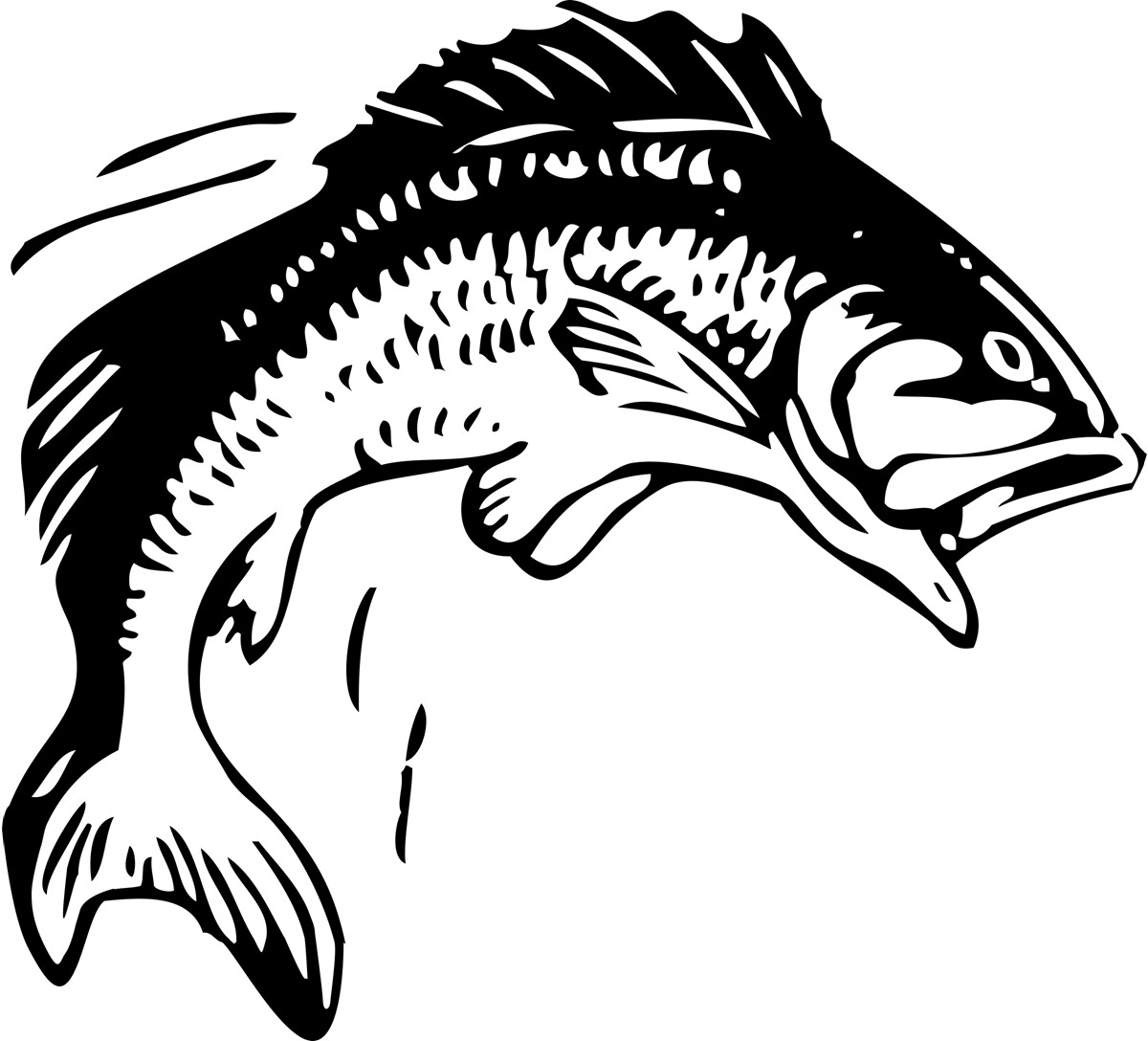 Long tail fish clipart clipart freeuse stock Fish Clip Art Printable Free | Clipart Panda - Free Clipart Images clipart freeuse stock