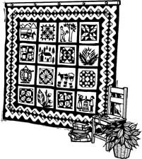 Longarm quilting clipart jpg library stock Free Quilting Clip Art | Free Clipart Network : %%%CATEGORY ... jpg library stock