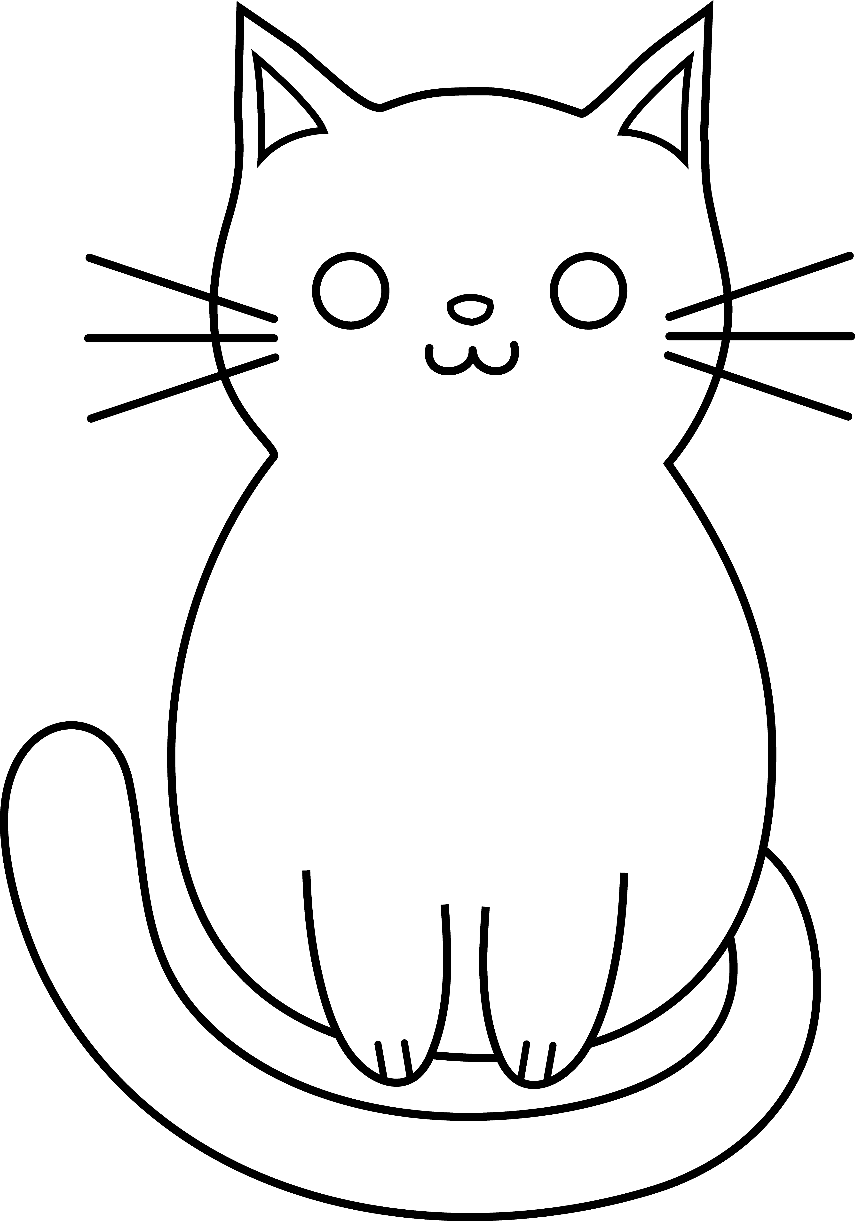 Look after cayt clipart black and white image stock Free Kitty Cat Clipart, Download Free Clip Art, Free Clip Art on ... image stock