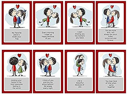 Look of surprise clipart husband and wife png transparent Furnish Marts Love Story Romantic Love Cards - Birthday, Anniversary ... png transparent