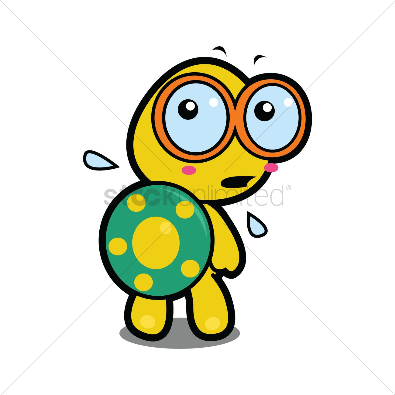 Looking back clipart graphic black and white stock Free Tortoise looking back in fear Vector Image - 1287516 ... graphic black and white stock