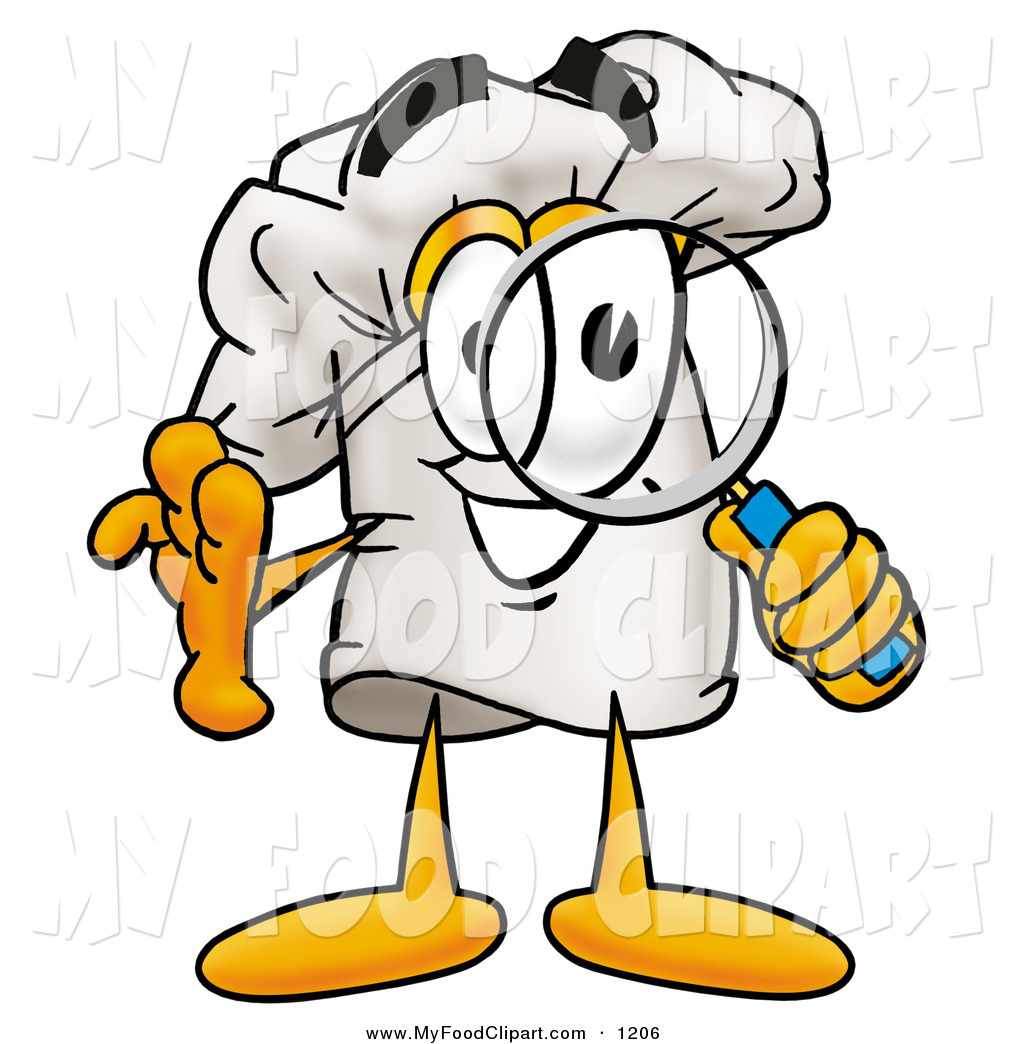 Looking for food clipart picture freeuse Food Clip Art of a Smiling Chefs Hat Mascot Cartoon Character ... picture freeuse