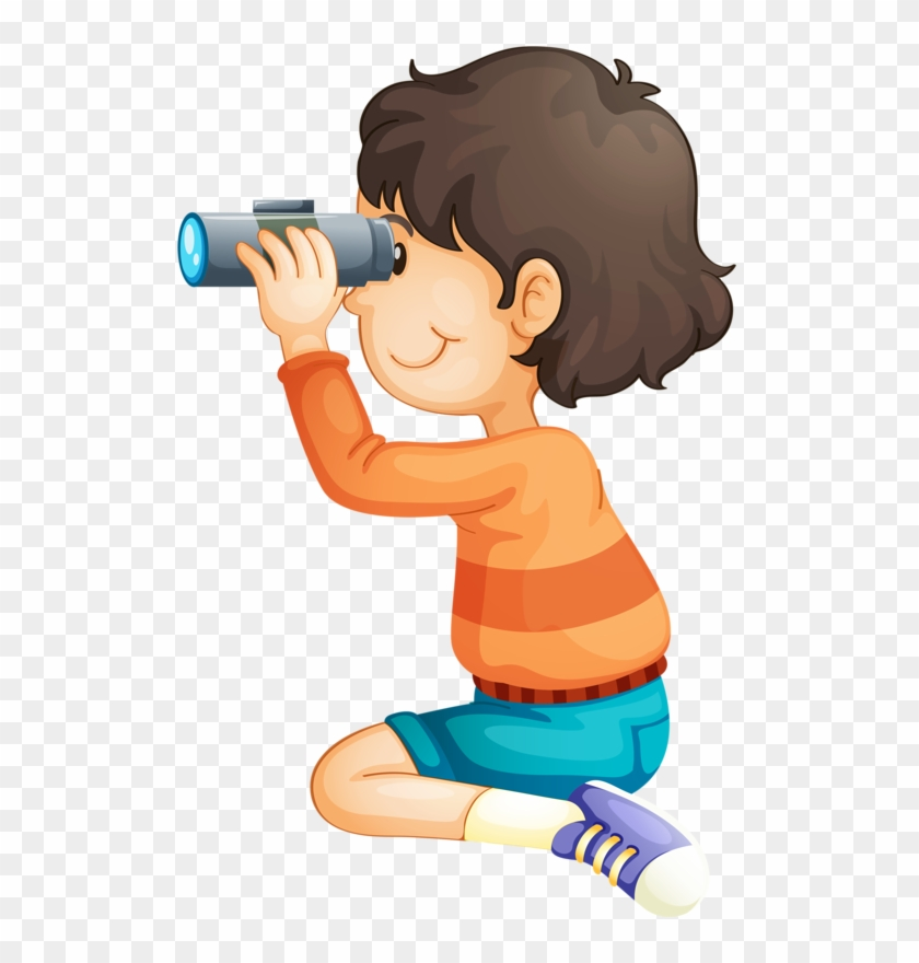 Looking through binoculars clipart black and white stock Png Binoculars Clip Art And Baby - Boy With Binoculars Png ... black and white stock