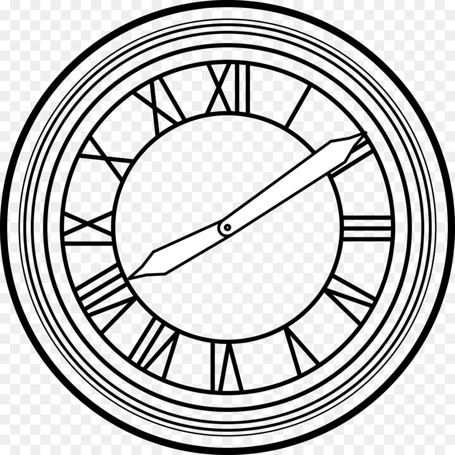 Looking to the future clipart black and white black and white library Clock Background clipart - Circle, transparent clip art black and white library