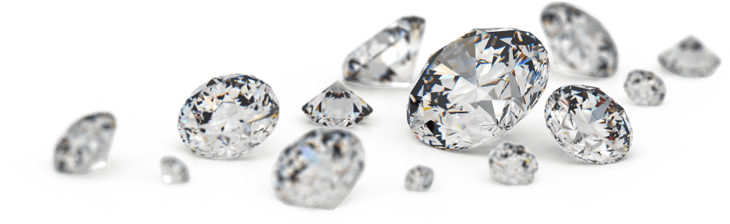 Loose diamonds clipart black and white library Diamond Jewellery Carat Engagement ring Gemstone ... black and white library