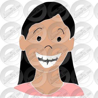Loose tooth clipart png freeuse Loose Tooth Stencil for Classroom / Therapy Use - Great ... png freeuse