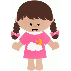 Loose tooth clipart png royalty free stock Girl in pajamas with loose tooth | Free Svg invites ... png royalty free stock