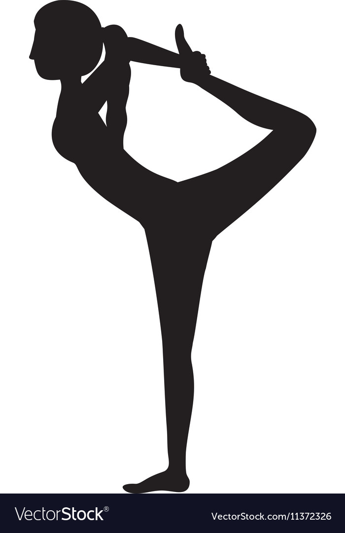 Lord of the dance clipart clip art freeuse library Silhouette yoga woman lord of the dance pose three clip art freeuse library