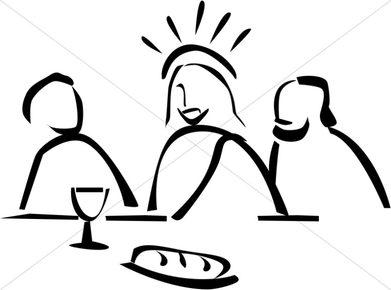 Lord s supper clipart picture transparent Jesus Institutes the Lord\'s Supper | Maundy Thursday Clipart picture transparent