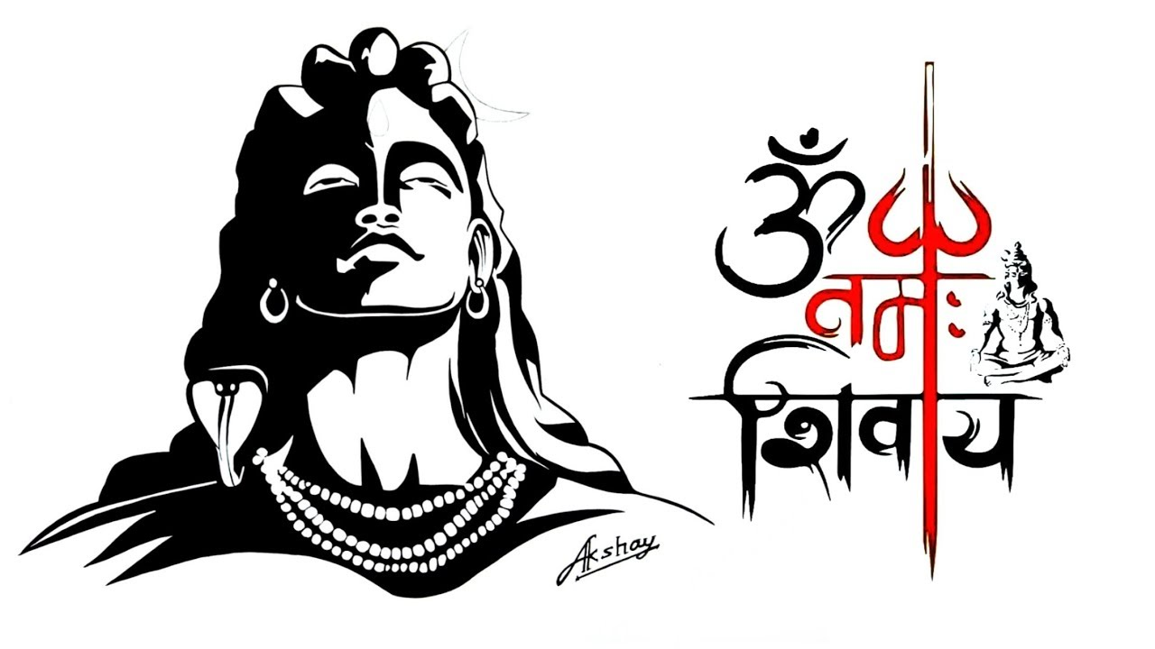 Lord shiva logo clipart jpg royalty free library Lord Shiva Drawing | Free download best Lord Shiva Drawing ... jpg royalty free library