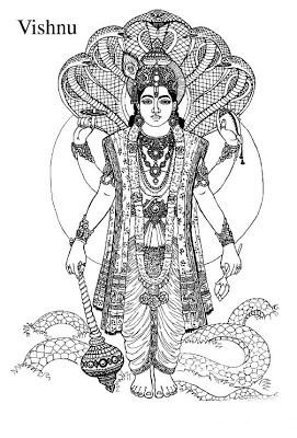 Lord vishnu clipart svg black and white download Lord vishnu clipart » Clipart Portal svg black and white download