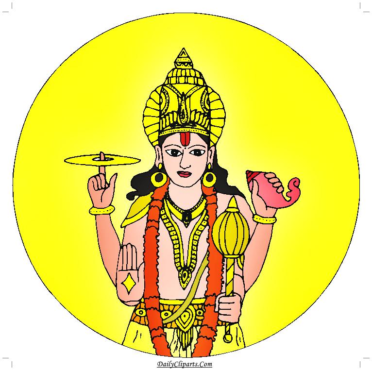 Lord vishnu clipart vector free library Lord Vishnu Image | Daily Cliparts vector free library