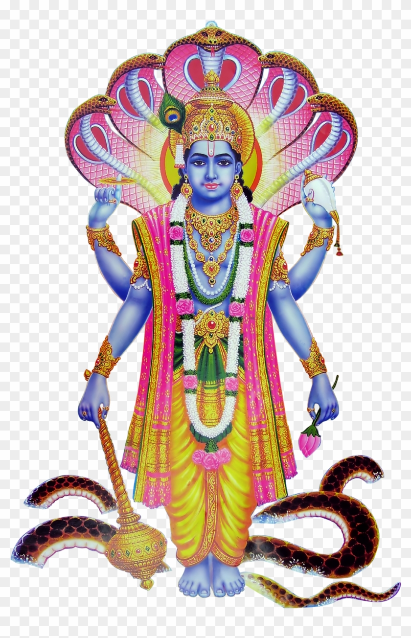 Lord vishnu clipart image free stock Gods Cliparts And Images - Vishnu Hindu God, HD Png Download ... image free stock