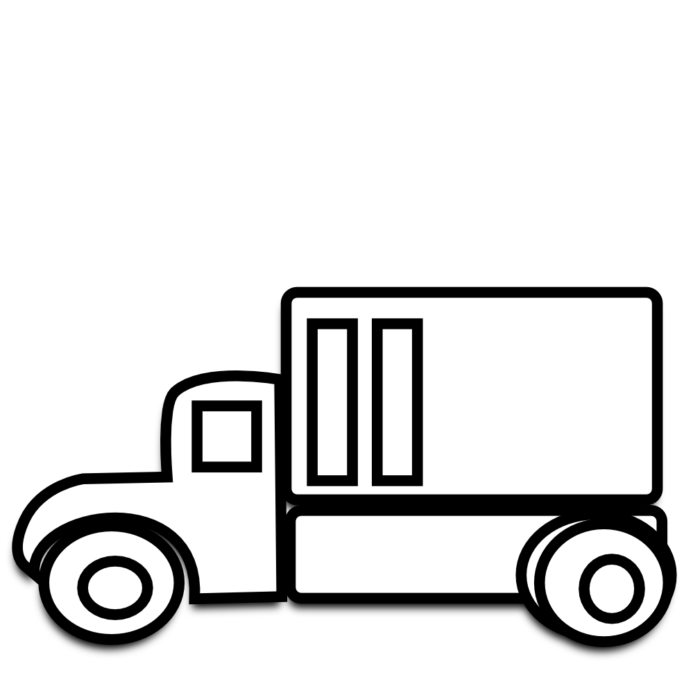 Lorry clipart black and white clipart freeuse stock Truck black and white semi truck clipart black and white ... clipart freeuse stock