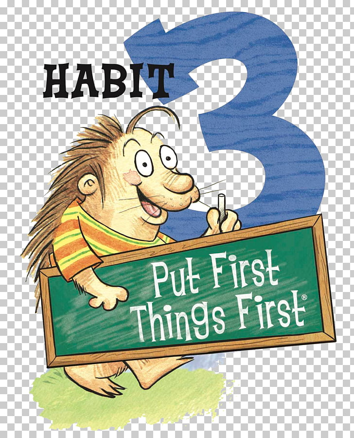 Los 7 habitos de la gente altamente efectiva clipart graphic stock Los 7 hábitos de las personas altamente efectivas. Los 7 ... graphic stock