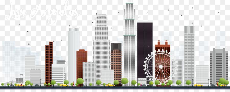 Los angeles cliparts clip free Los Angeles Skyline Clip Art Vector Skyscraper Png Download ... clip free