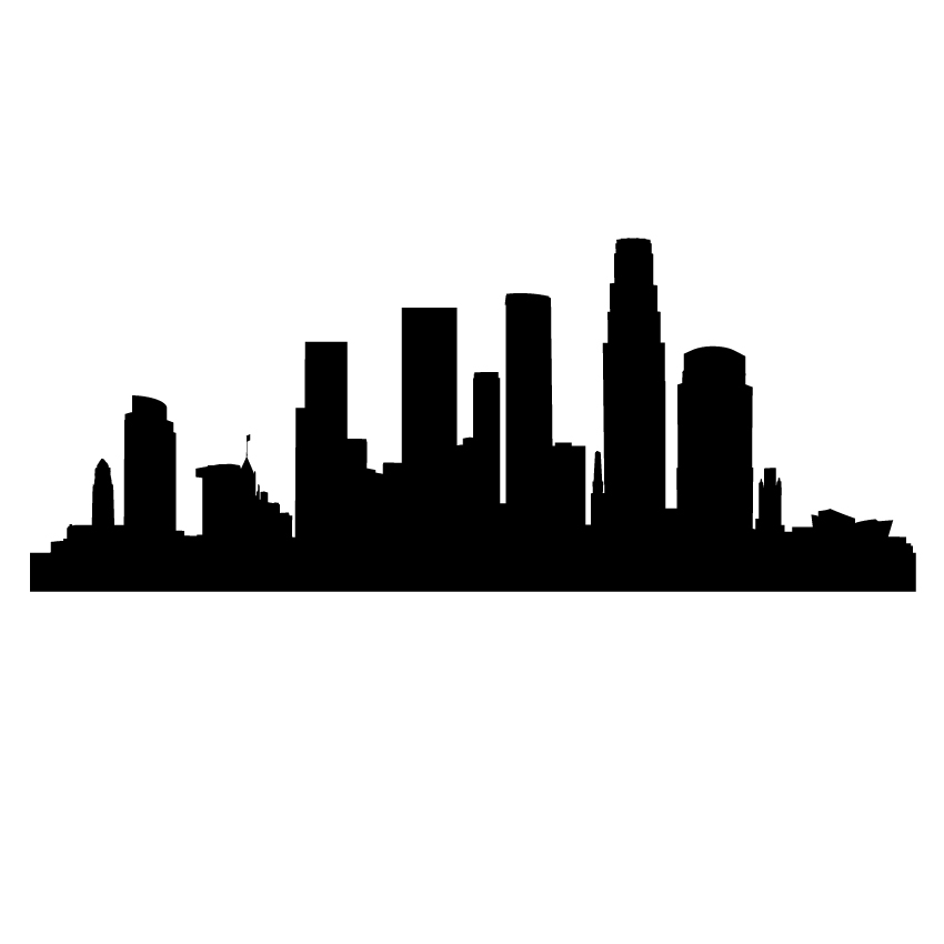 Los angeles cliparts banner free library Los angeles skyline clipart free - Clip Art Library banner free library