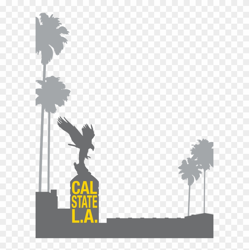 Los angeles geofilter clipart banner black and white library Cal State La On Twitter - Los Angeles Snapchat Geofilter Png ... banner black and white library