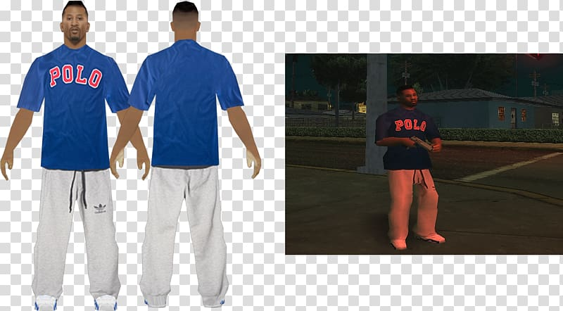 Los santos clipart picture black and white Crips Jersey T-shirt Skin Los Santos, lsrp transparent ... picture black and white