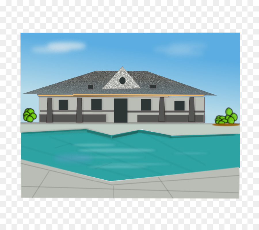 Lots of people in a house clipart