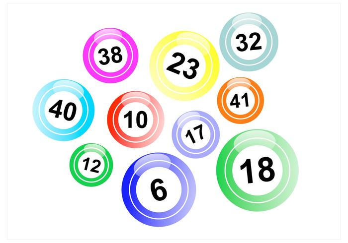 Lotto balls clipart picture transparent library Lotto Balls Vector Pack - Download Free Vectors, Clipart ... picture transparent library