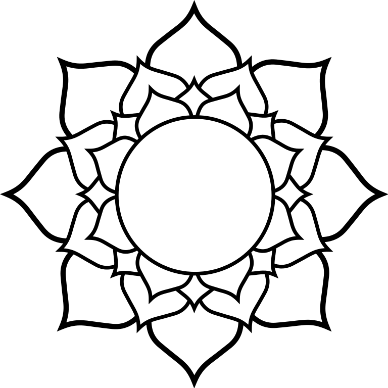 Lotus flower clipart black white png transparent stock Line Drawing Lotus Flower at GetDrawings.com | Free for personal use ... png transparent stock