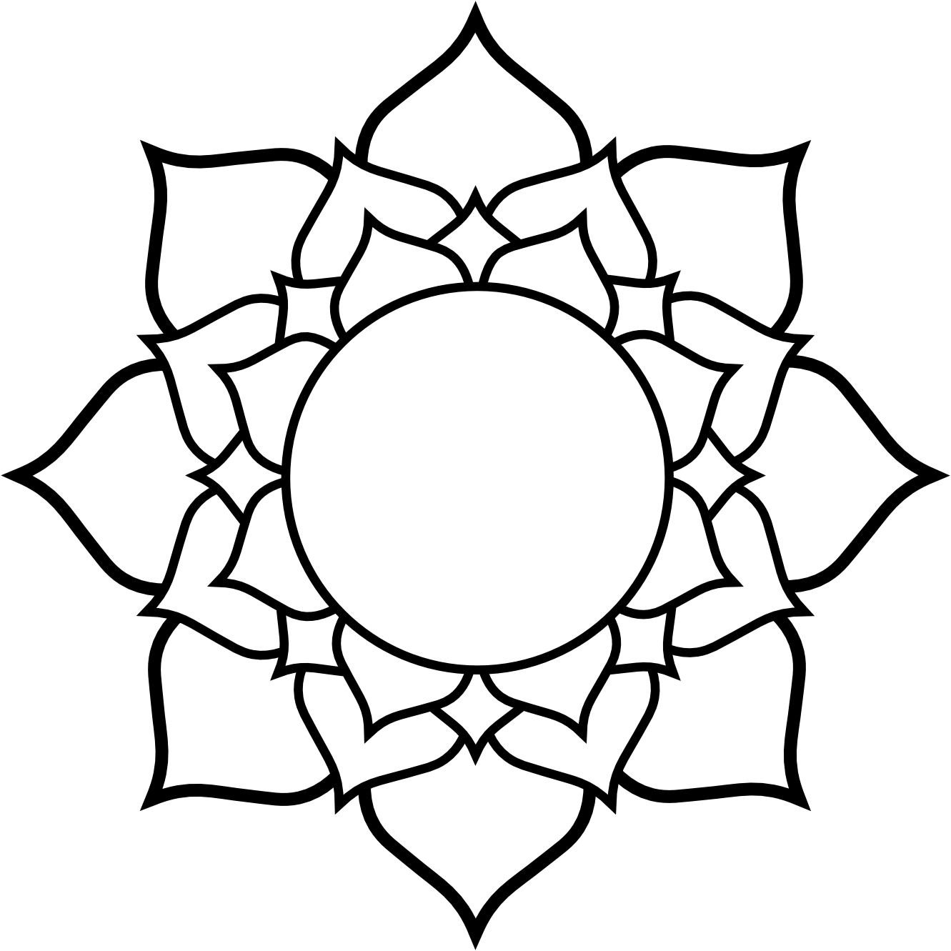 Lotus flower clipart black and white picture transparent clipartist.info Lotus black white line art tattoo tatoo flower SVG ... picture transparent