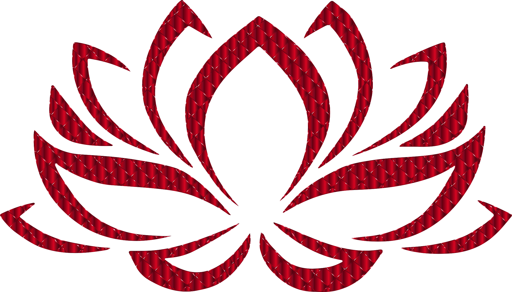 Lotus flower clipart free picture black and white library Vermillion Lotus Flower No Background Icons PNG - Free PNG and Icons ... picture black and white library