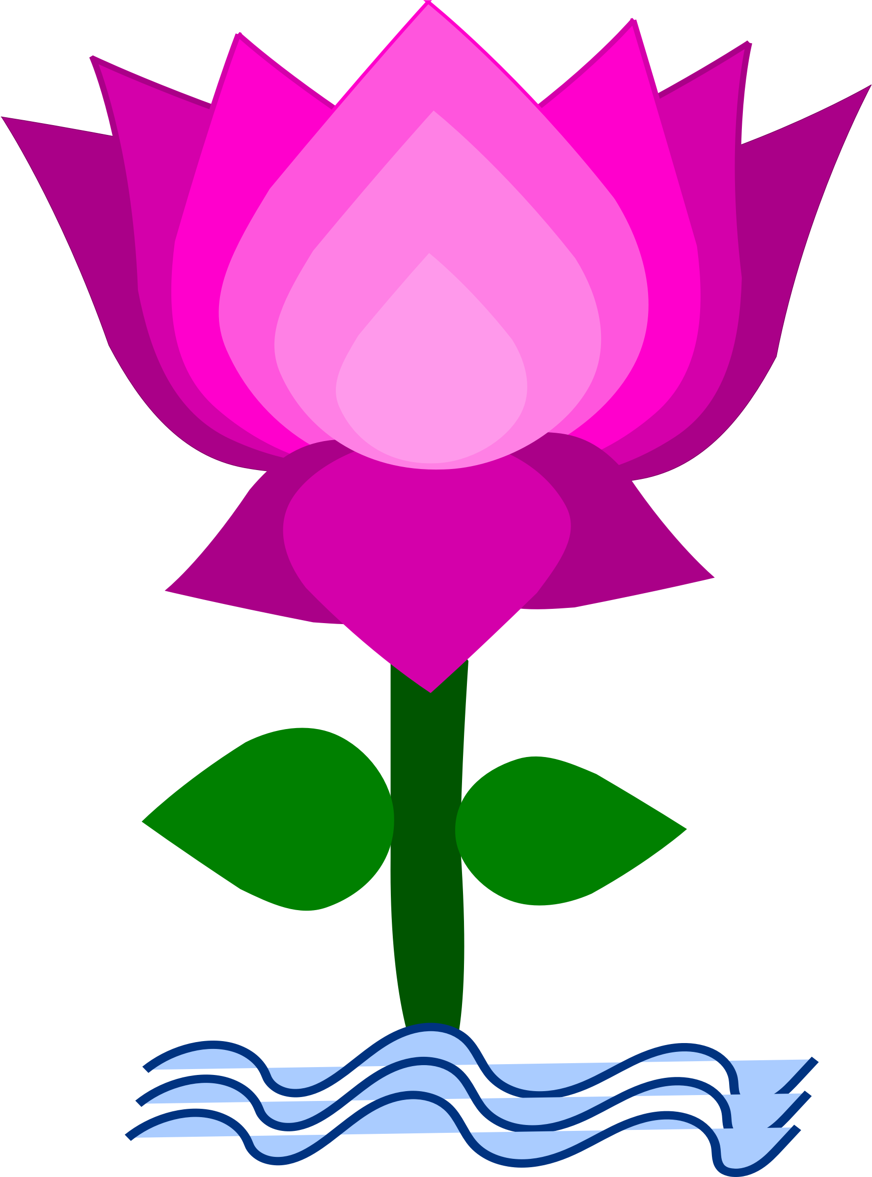 Lotus flower clipart free download clipart transparent download Lotus Flower Clipart | Free download best Lotus Flower ... clipart transparent download