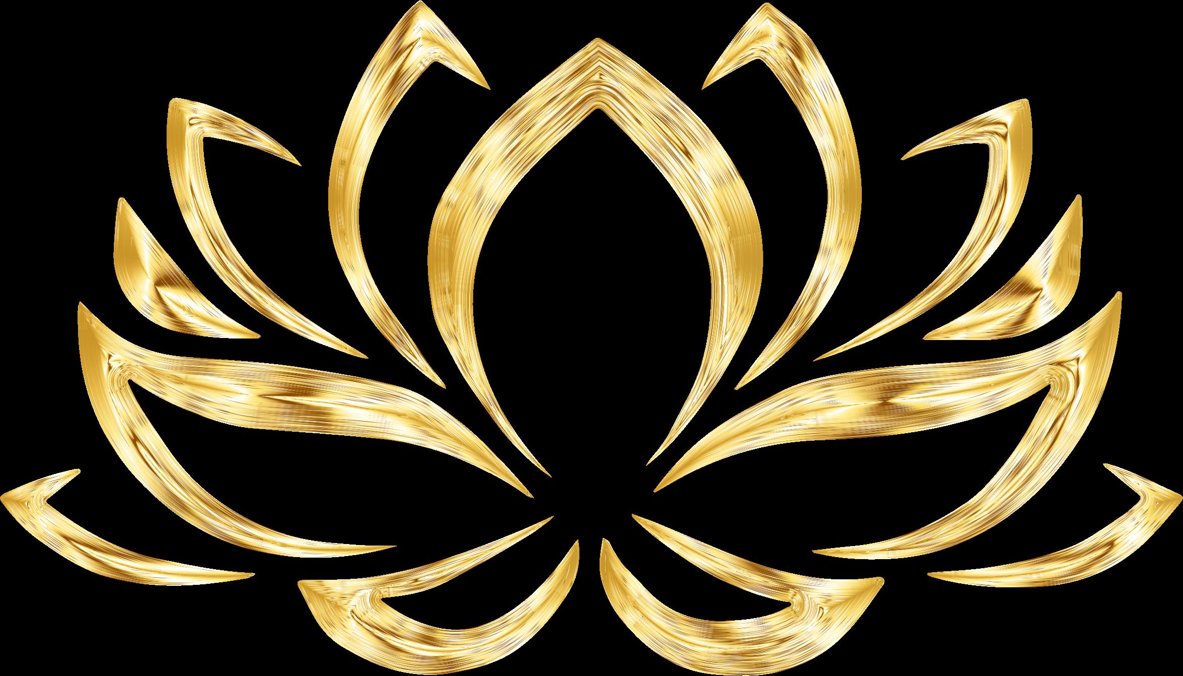 Lotus flower clipart no background svg transparent library Clipart - Aurumized Lotus Flower No Background svg transparent library