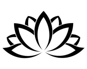 Lotus flower outline clipart free picture free library Free Lotus Flower Outline, Download Free Clip Art, Free Clip ... picture free library