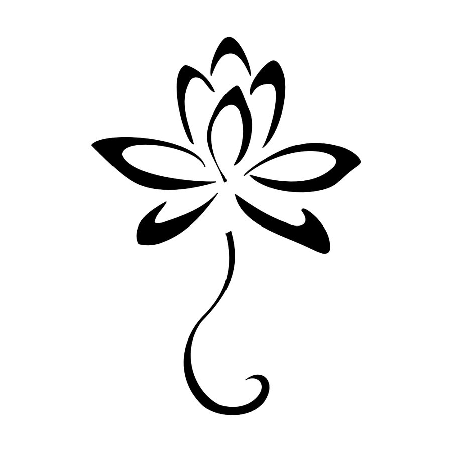 Lotus flower outline clipart free picture royalty free Free Lotus Flower Outline, Download Free Clip Art, Free Clip ... picture royalty free
