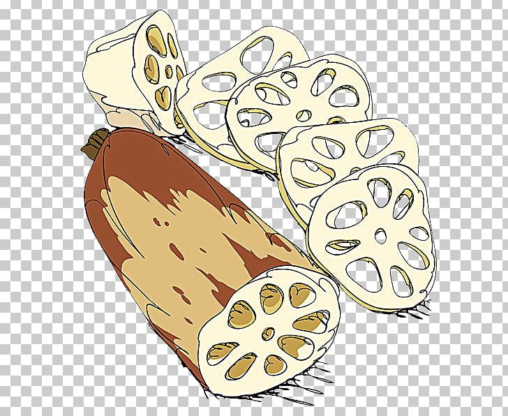Lotus root clipart png library stock Lotus Root Cartoon Illustration PNG, Clipart, Cartoon ... png library stock