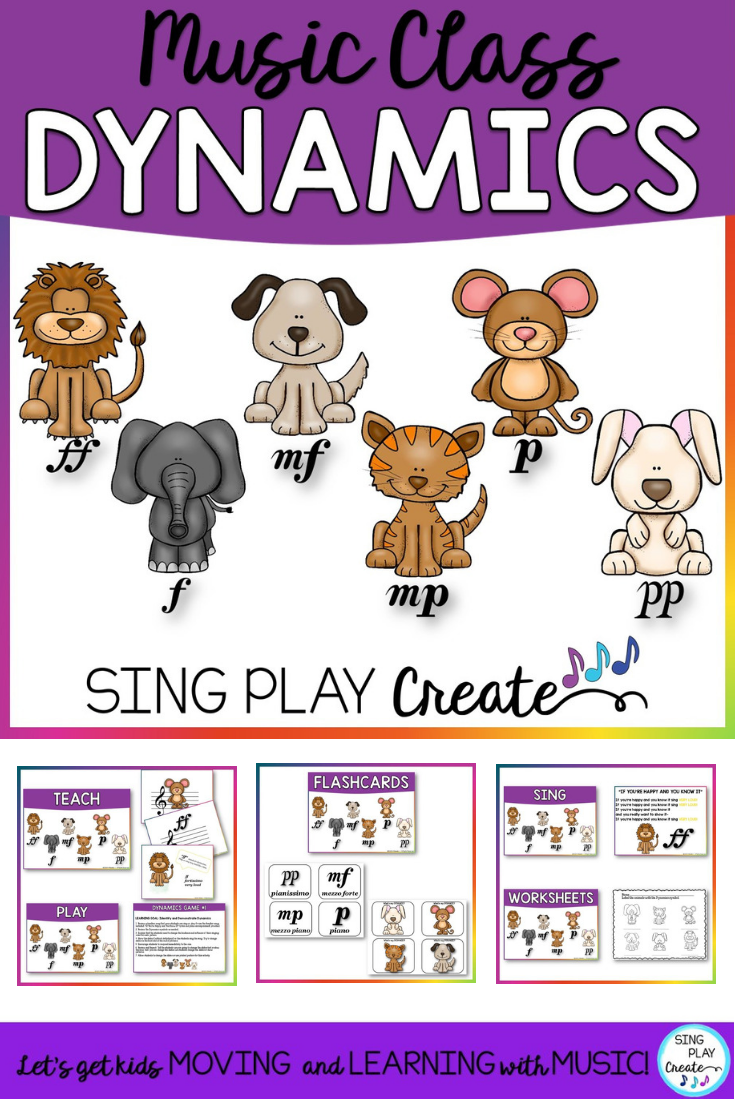 Loud and quiet lds primary lion mouse clipart image free stock Music Class Dynamics   Orff Lessons, Songs, Games and Ideas ... image free stock