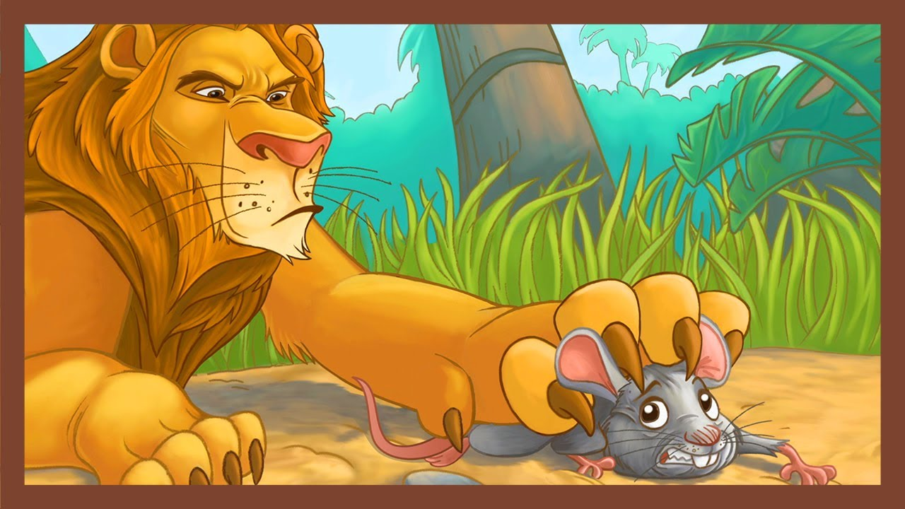 Loud and quiet lds primary lion mouse clipart picture download The Lion and the Mouse   Aesop\'s Fables Series   ABCmouse.com picture download