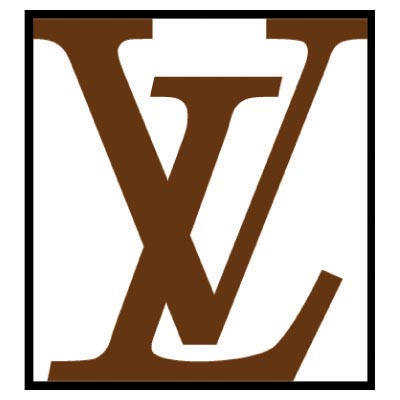 Louis philippe logo clipart jpg black and white stock Louis Vuitton Iron Ons : Brand Logos t-shirt iron on ... jpg black and white stock